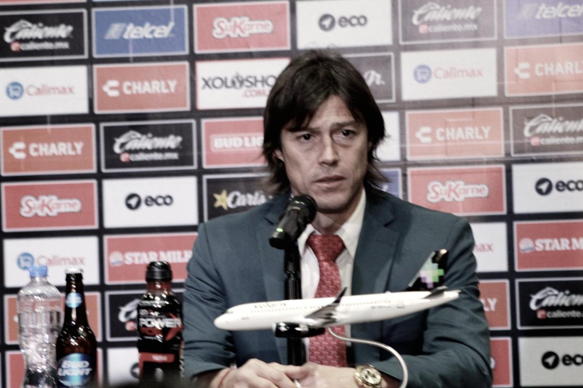 """Matías Almeyda: """"Sería irresponsable correr el riesgo de que alguno se me lastime"""""""