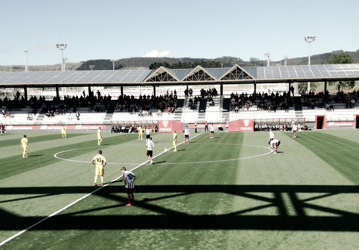 El Bilbao Athletic se impone con comodidad a un flojo Burgos