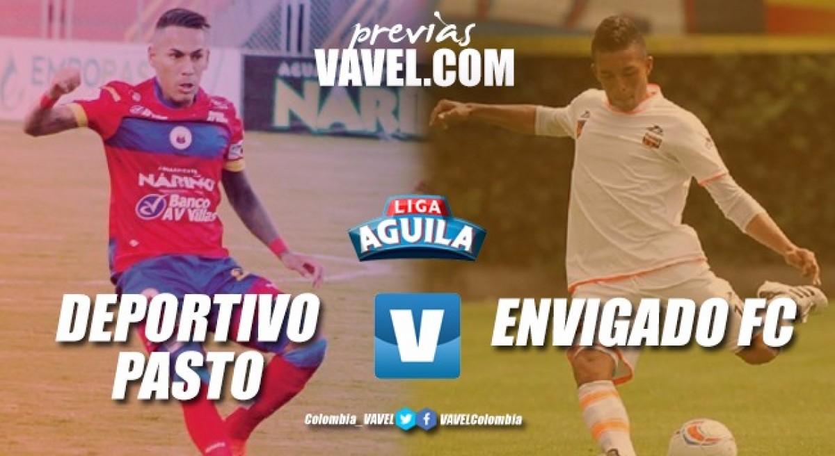 Previa Deportivo Pasto vs Envigado: los locales a por su tercera victoria en casa