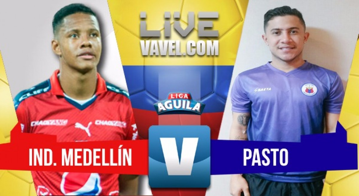 Medellín vs Deportivo Pasto en vivo online por la Liga Águila 2018 (1-0)