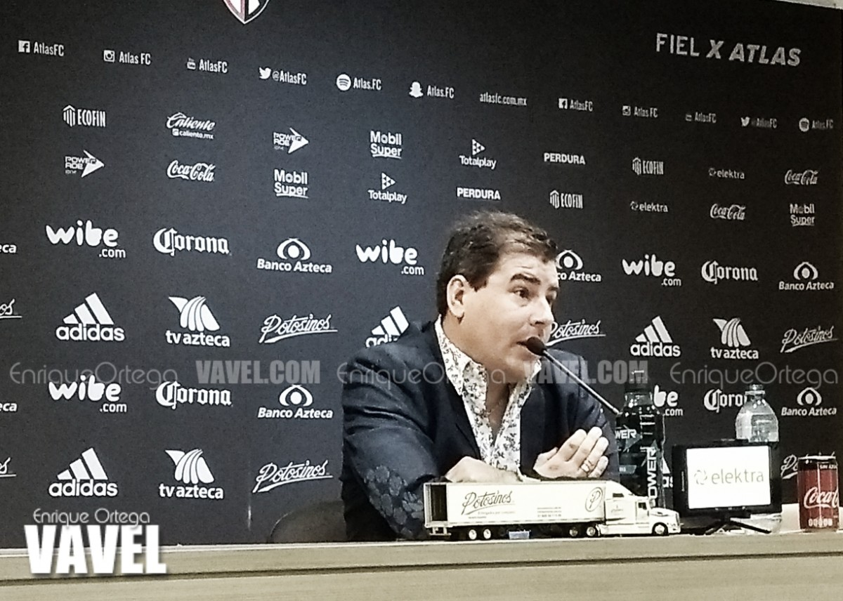 """Fabricio Bassa: """"Gerardo Espinoza dirigirá a Atlas el siguiente torneo"""""""