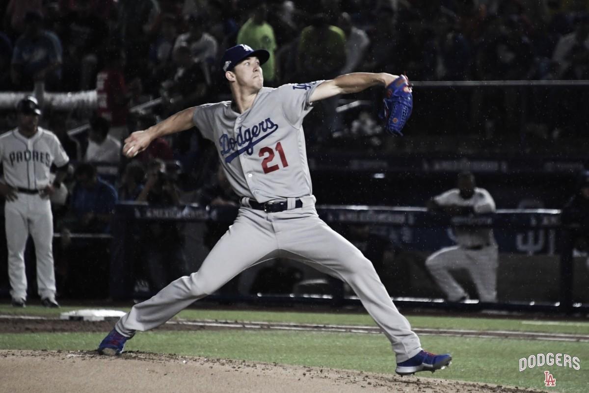 Histórico 'No-No' de Dodgers en la México Series 2018