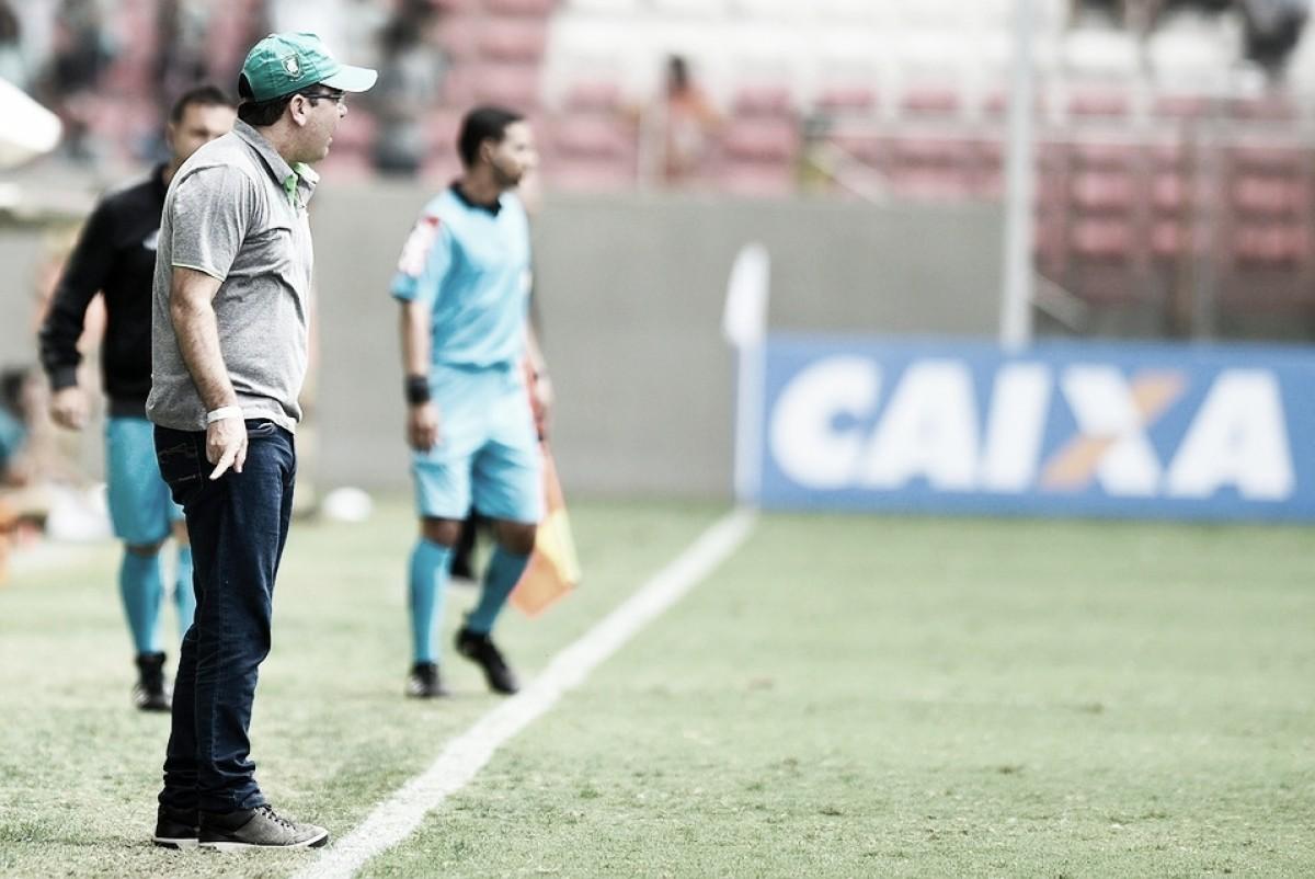 """Enderson Moreira lamenta goleada sofrida pelo América-MG: """"Faltou competitividade"""""""