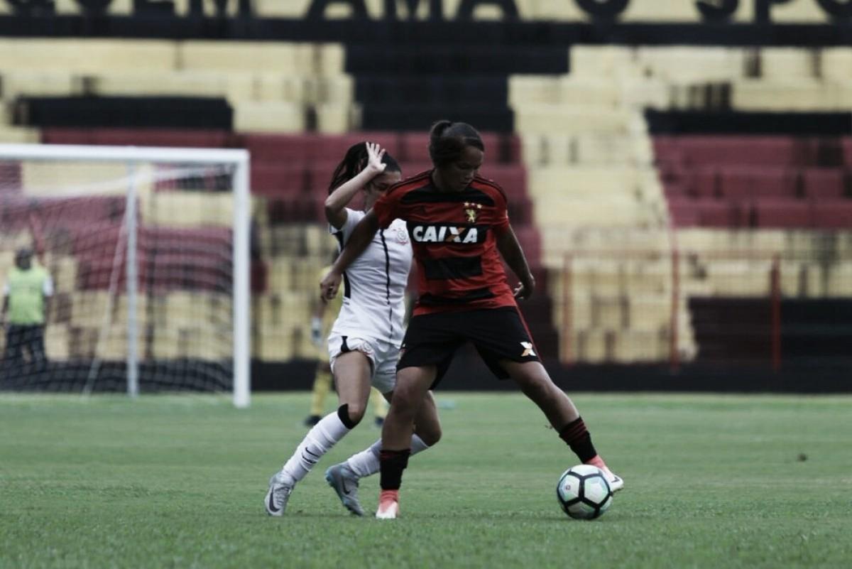 Brasileiro Feminino: com gol no fim, Corinthians bate Sport e mantém série invicta