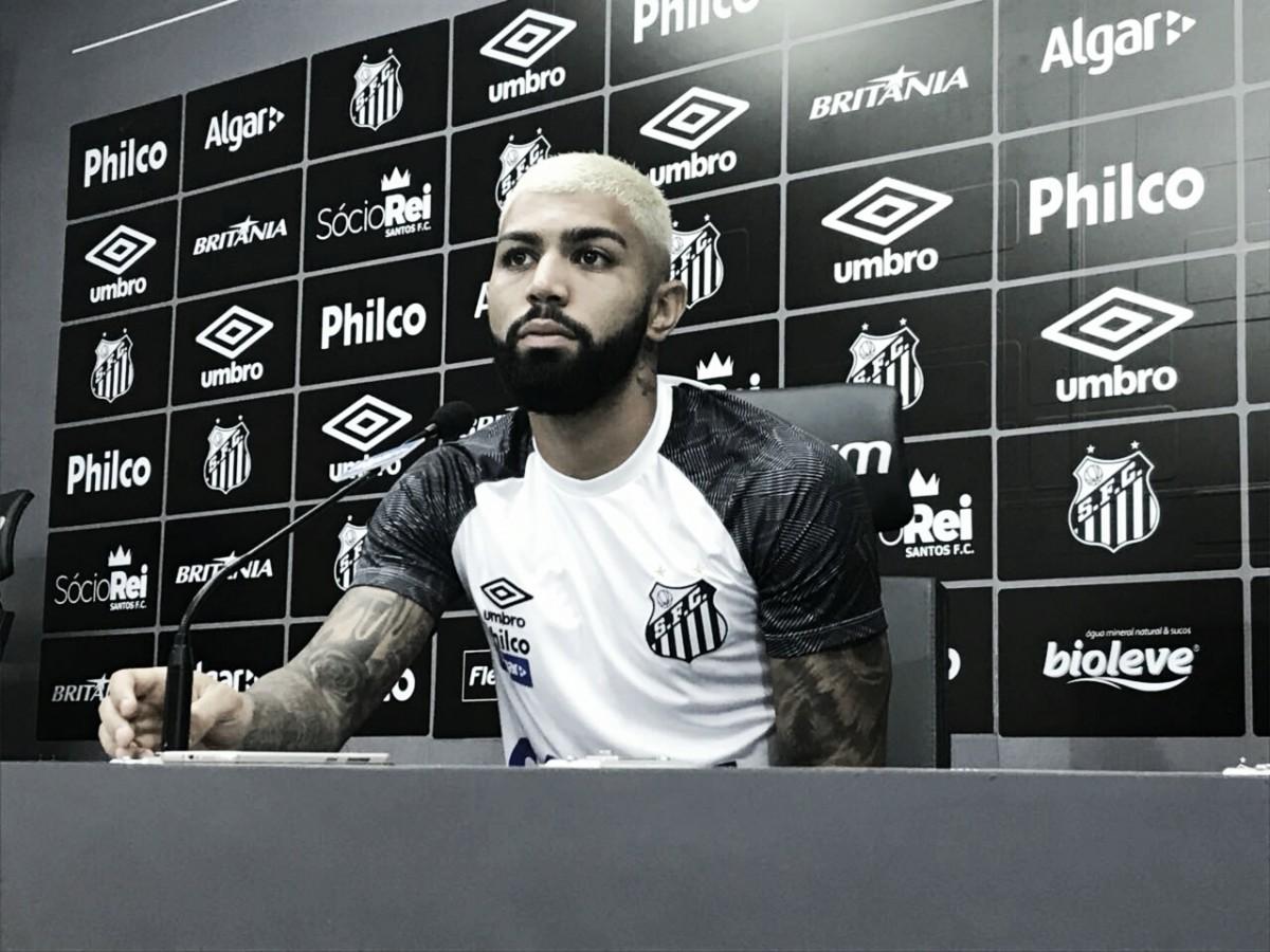 Artilheiro do Santos na Copa do Brasil, Gabigol diz gostar de jogos decisivos