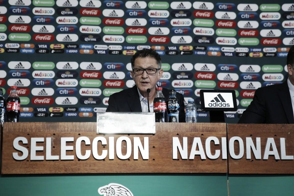Juan Carlos Osorio da la lista preliminar de cara a Rusia 2018