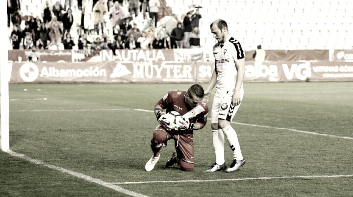 Román Zozulya, goleador del Albacete