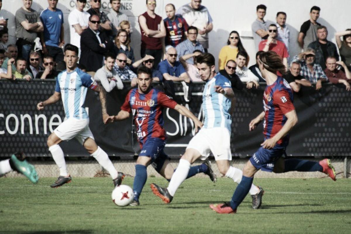 El Malagueño sube, el Almería B sigue y el Jaén y el Antequera quedan eliminados