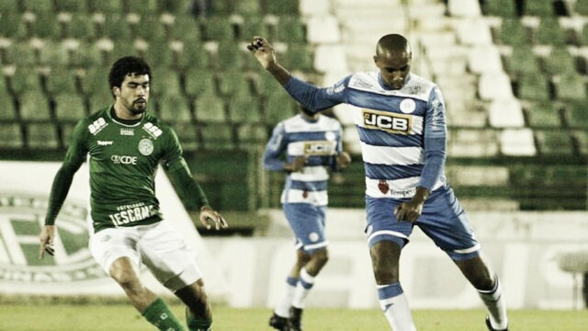 Em jogo sem grandes emoções, Guarani e São Bento empatam pela Série B
