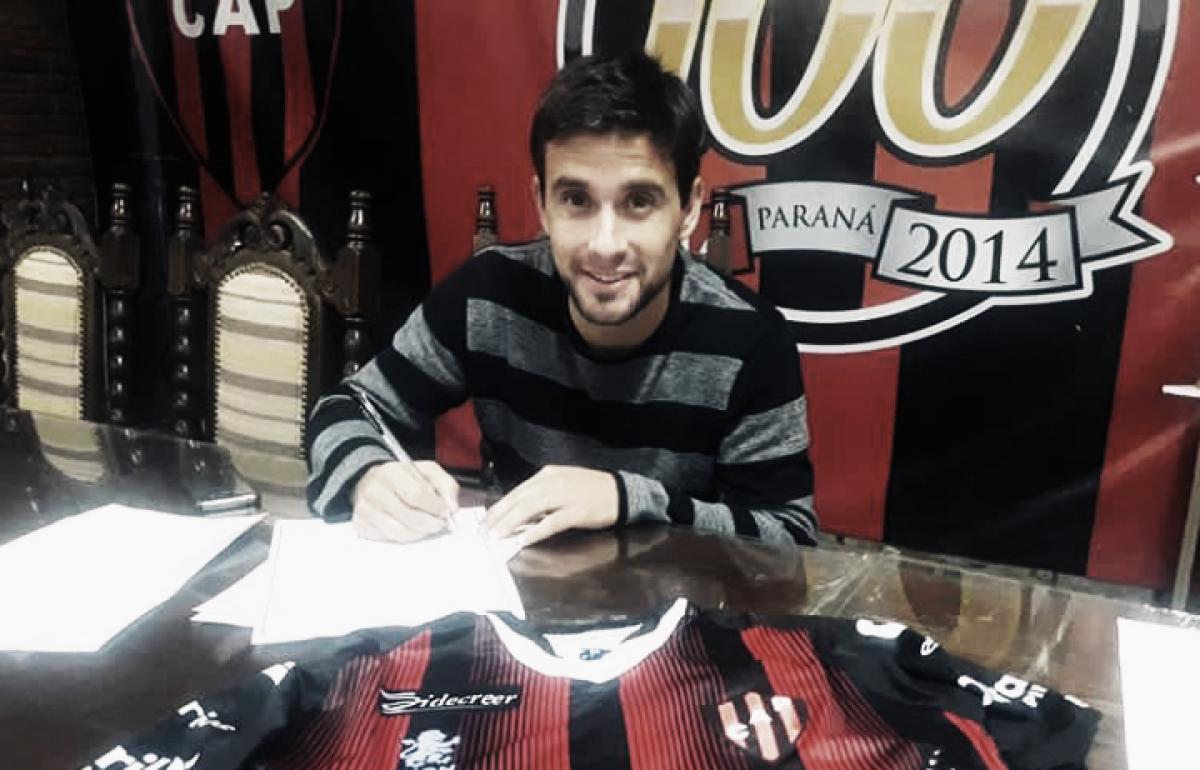 """Lucas Ceballos: """"Espero adaptarme rápido, hacer una buena preparación y pelear por un lugar en el equipo"""""""