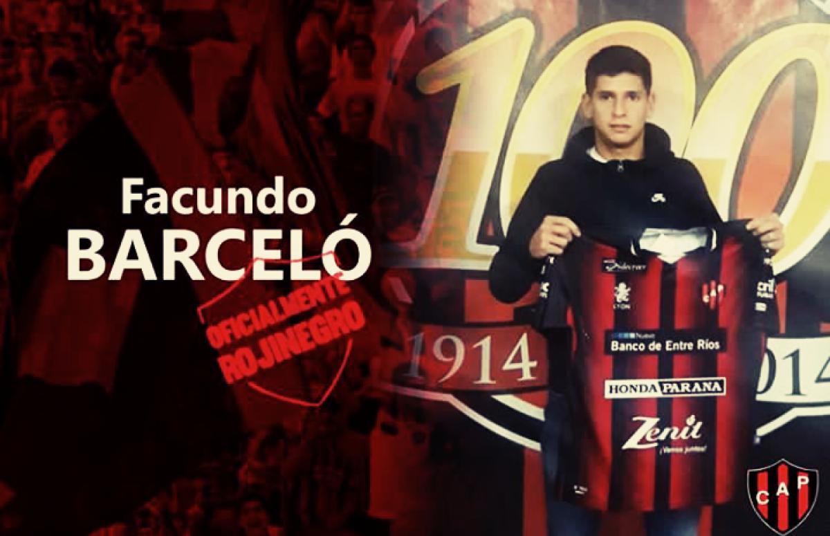 Facundo Barceló, un uruguayo para suplantar a otro uruguayo