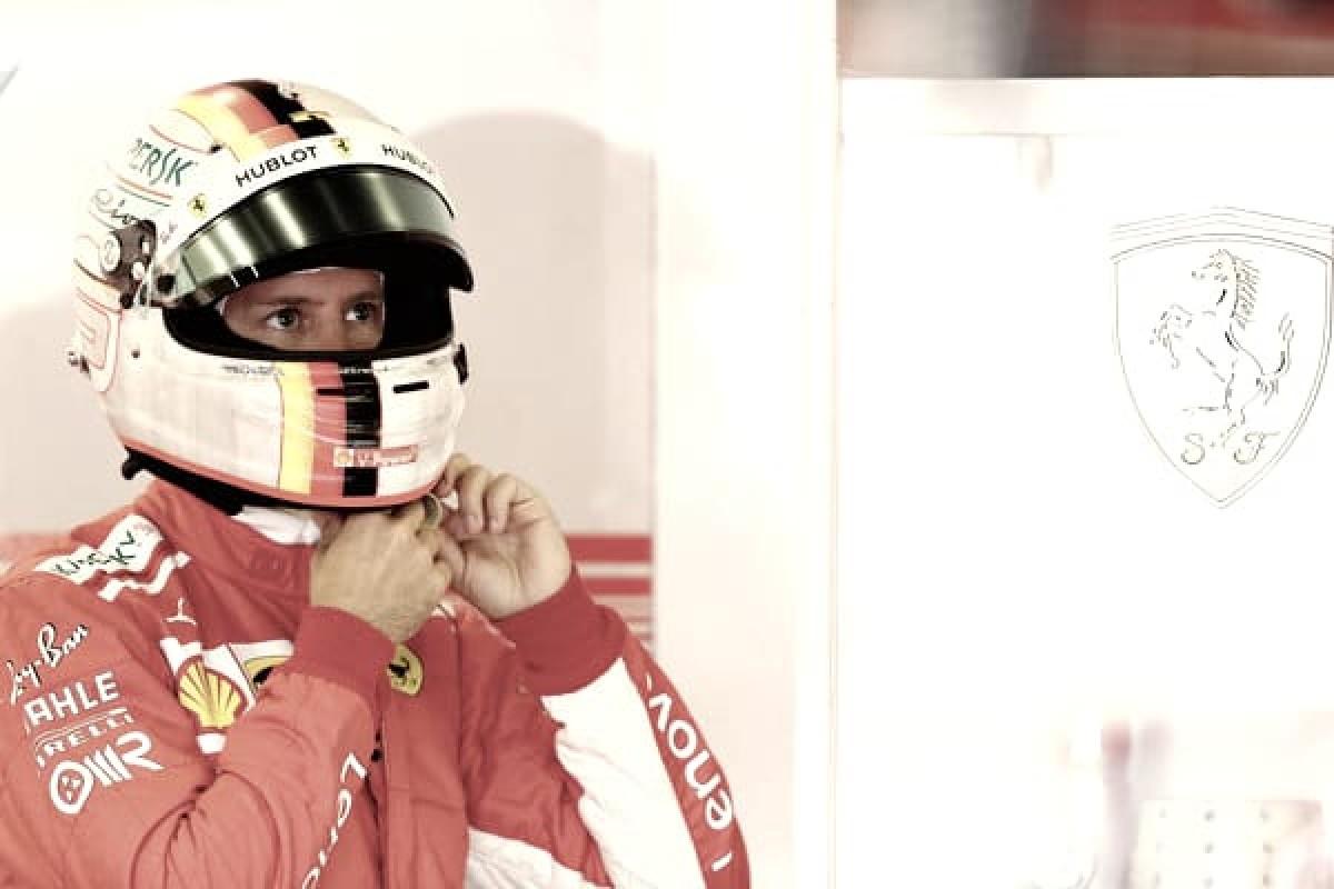 """Vettel: """"Me ha faltado algo, ha estado muy ajustado con los Mercedes"""""""