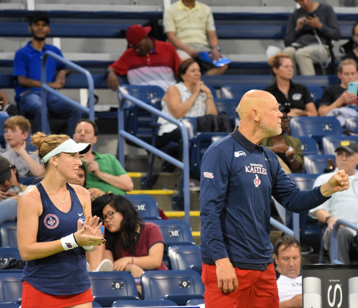 World TeamTennis: Washington Kastles defeat New York Empire