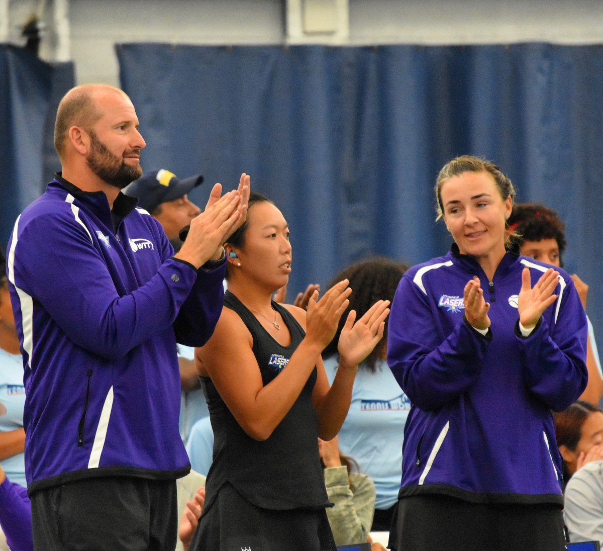 World TeamTennis: Springfield Lasers defeat New York Empire in extended play