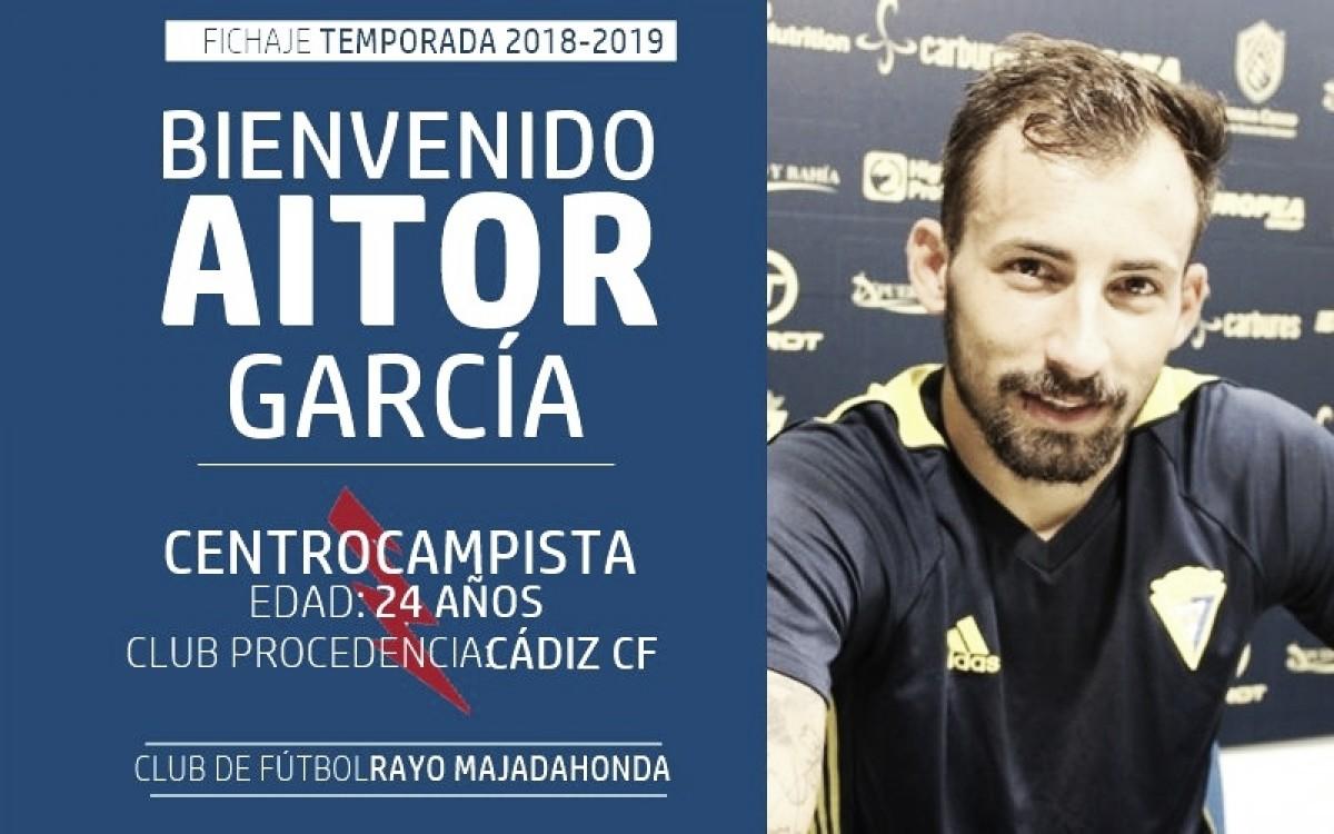 Aitor García, nuevo jugador del rayo Majadahonda