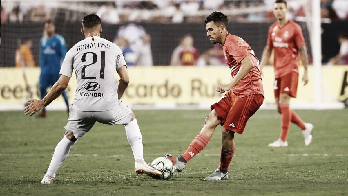 Sin despeinarse, Real Madrid derrotó a la Roma