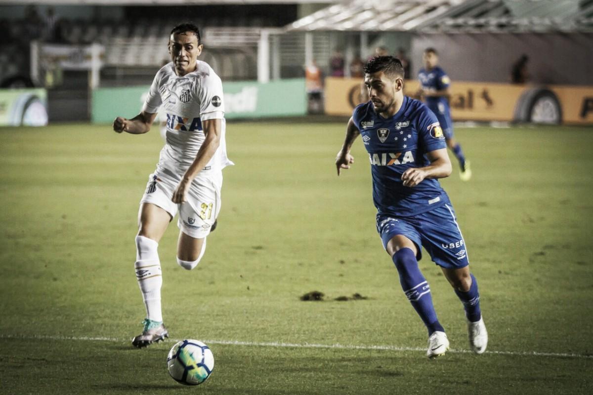 Resultado Cruzeiro 1 x 2 Santos pela Copa do Brasil