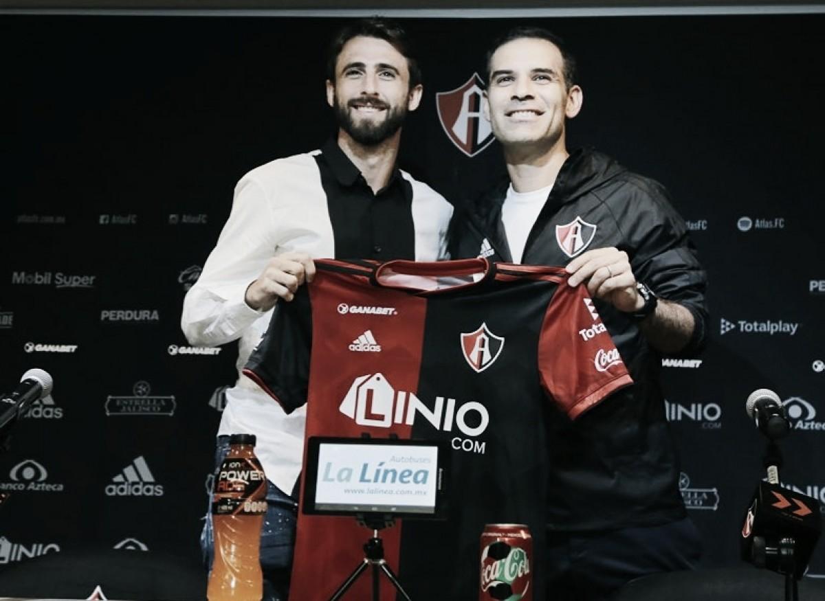 """Nicolás Pareja: """"Atlas será un gran desafío para mí"""""""