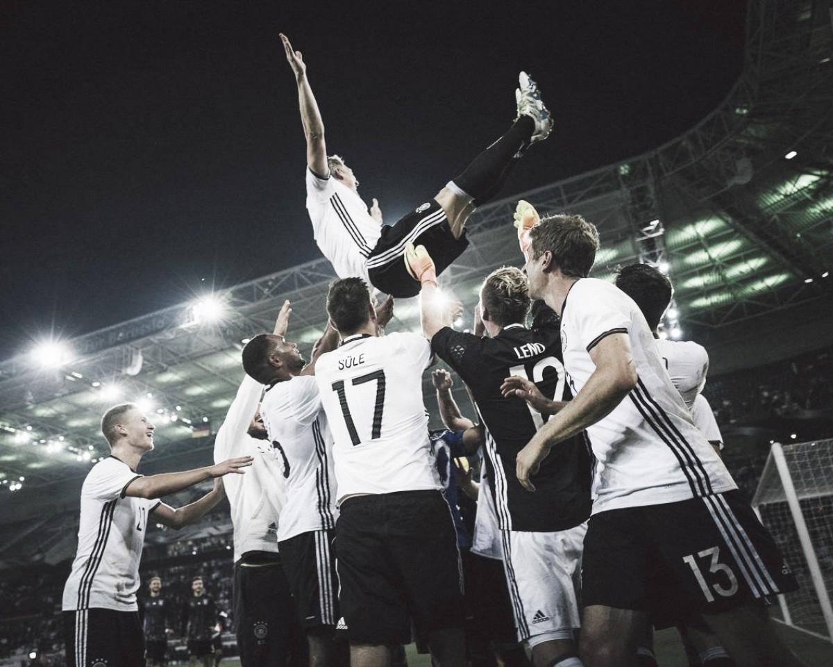 Com Leroy Sané, Alemanha é convocada para disputa da Liga das Nações e de amistoso