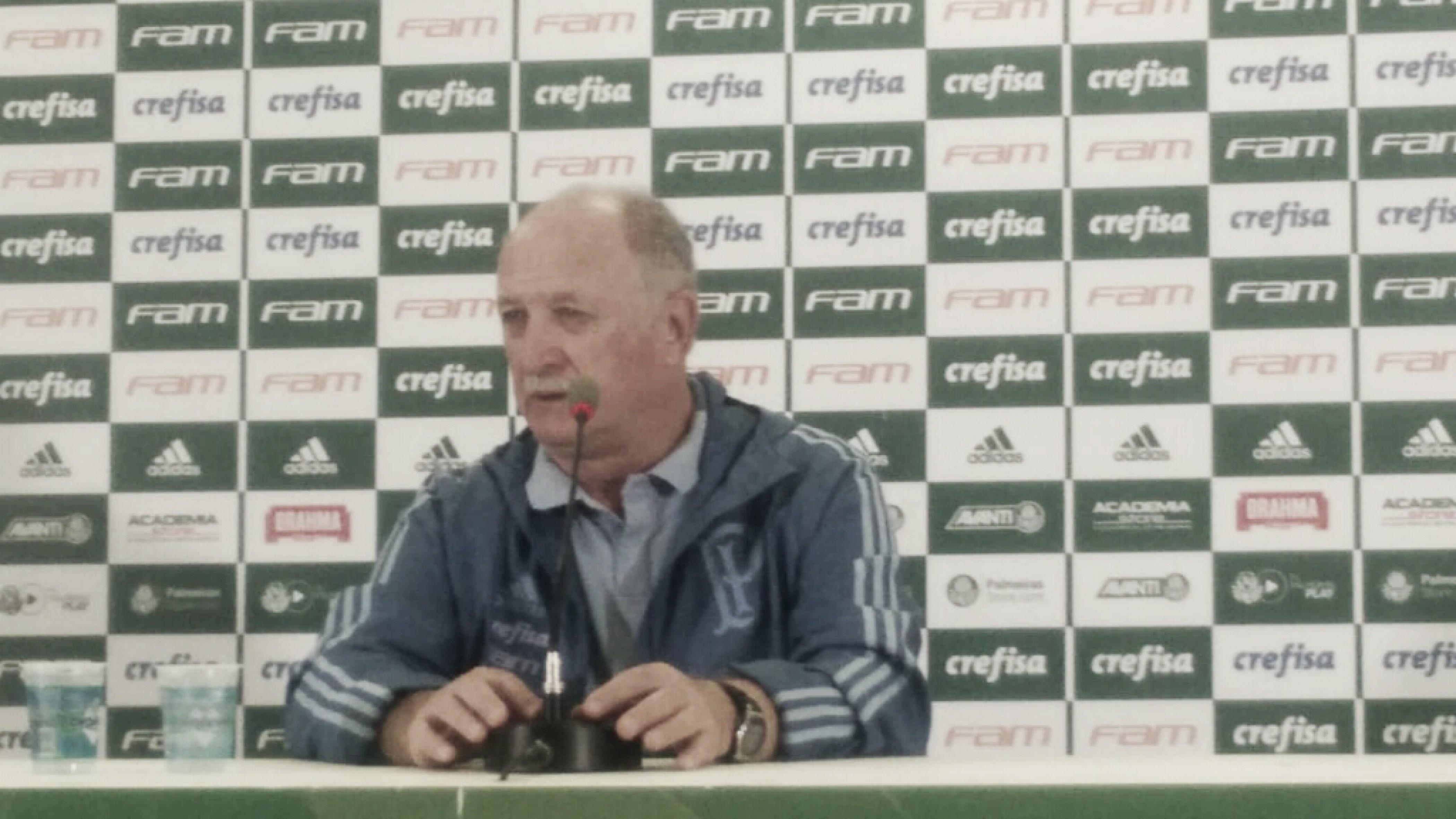"""Felipão ressalta merecimento em vitória do Palmeiras: """"Premiou a equipe que mais tentou"""""""