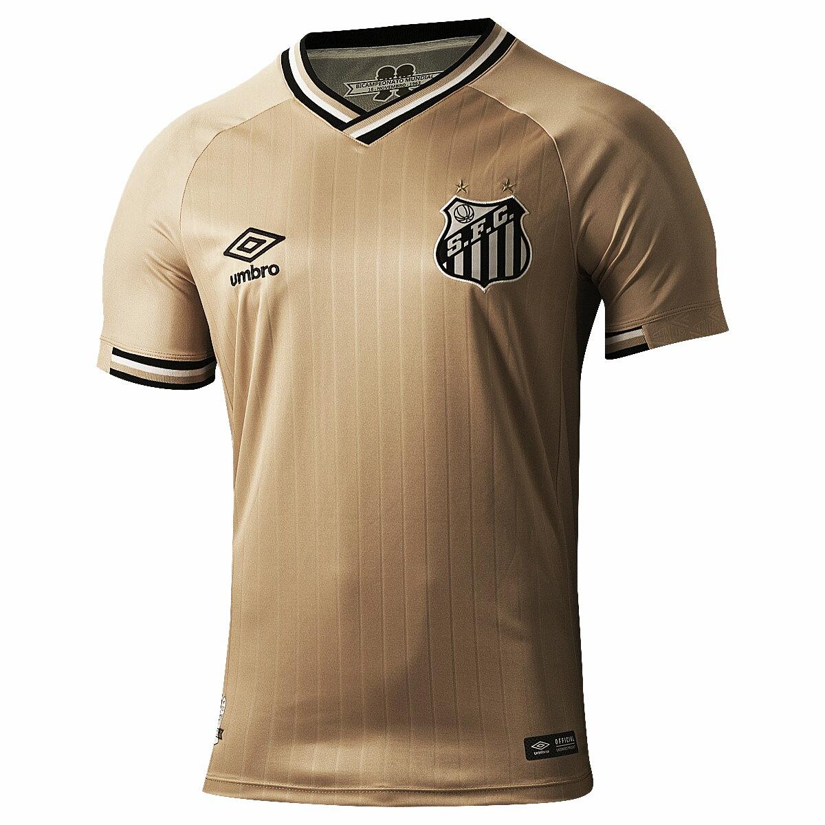 Novo terceiro uniforme do Santos vaza na internet antes do lançamento oficial