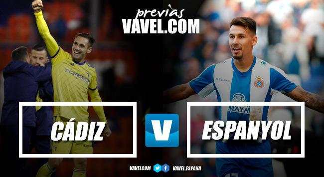 Previa Cádiz CF - RCD Espanyol: ¡ponga otra ronda!