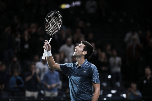 Djokovic fue mucho para Dzumhur