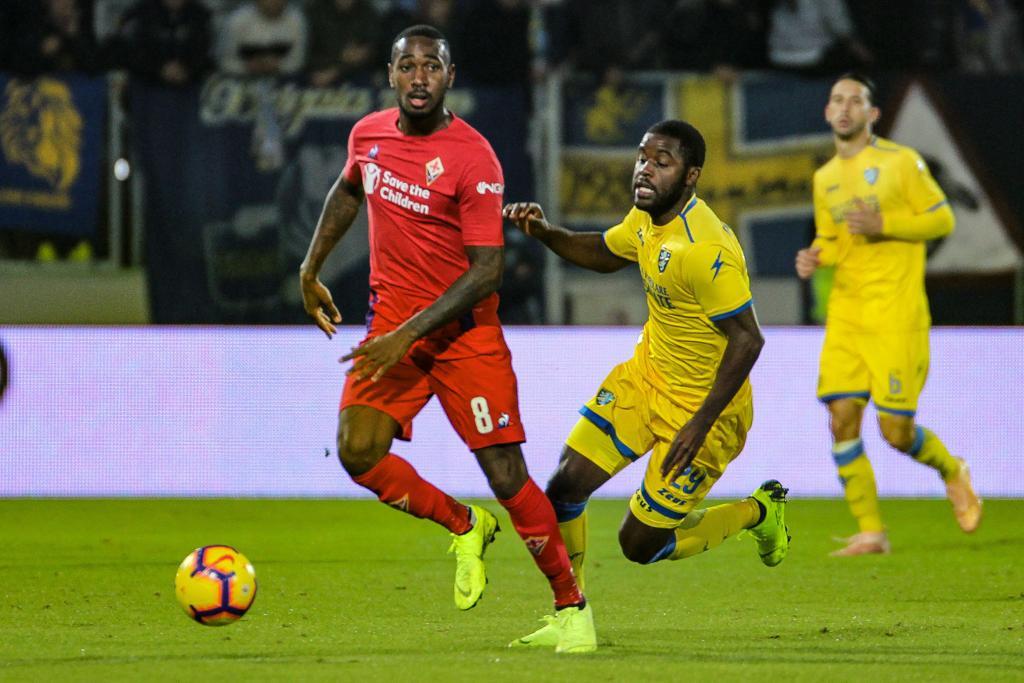 Serie A - Pinamonti risponde a Benassi: 1-1 tra Frosinone e Fiorentina