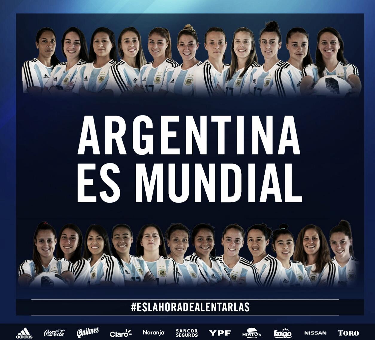 Fútbol femenino: La Selección Argentina se clasificó al Mundial de Francia después de 11 años