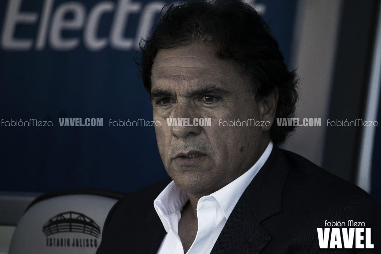 """Jorge Dávalos: """"El equipo jugó con personalidad"""""""