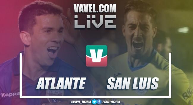 Resumen y goles Atlante 2-0 Atlético de San Luis en Vuelta Semifinal 2018