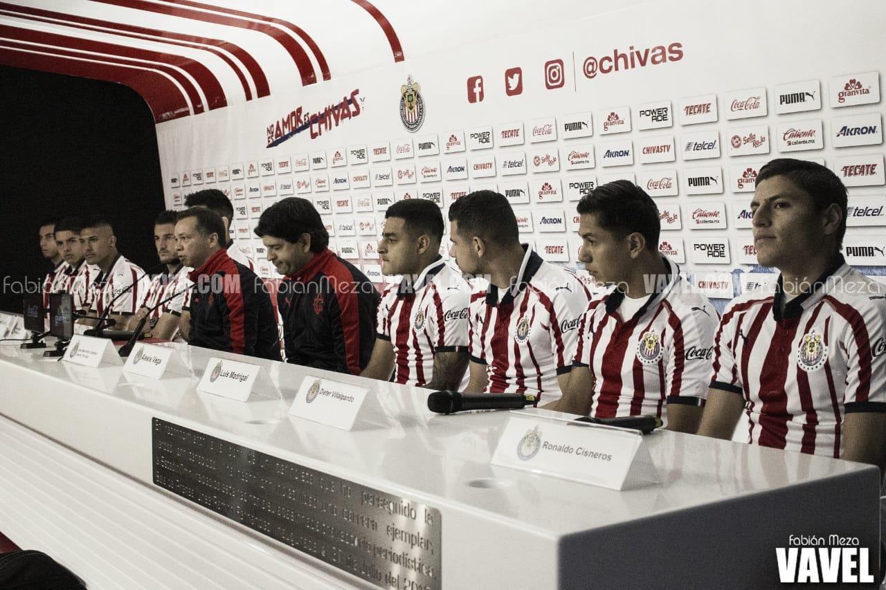 Chivas presenta a los refuerzos para el Clausura 2019