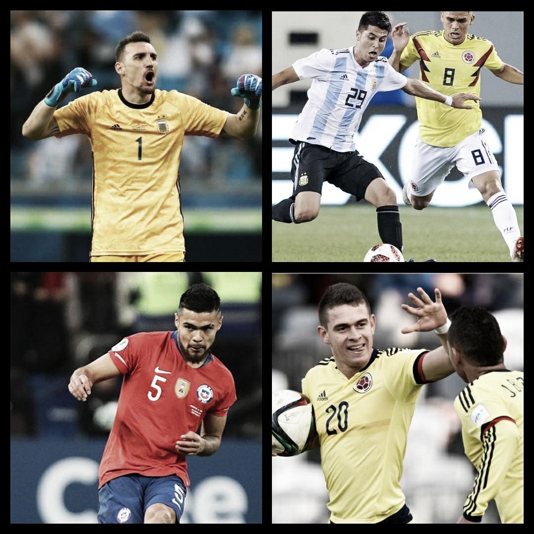 River copa las selecciones sudamericanas