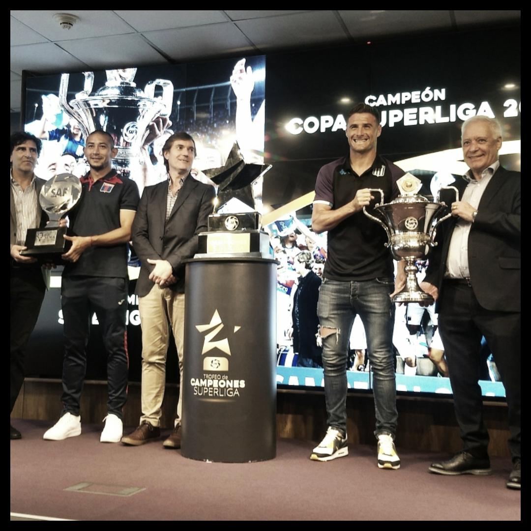 Se presentó el Trofeo de Campeones