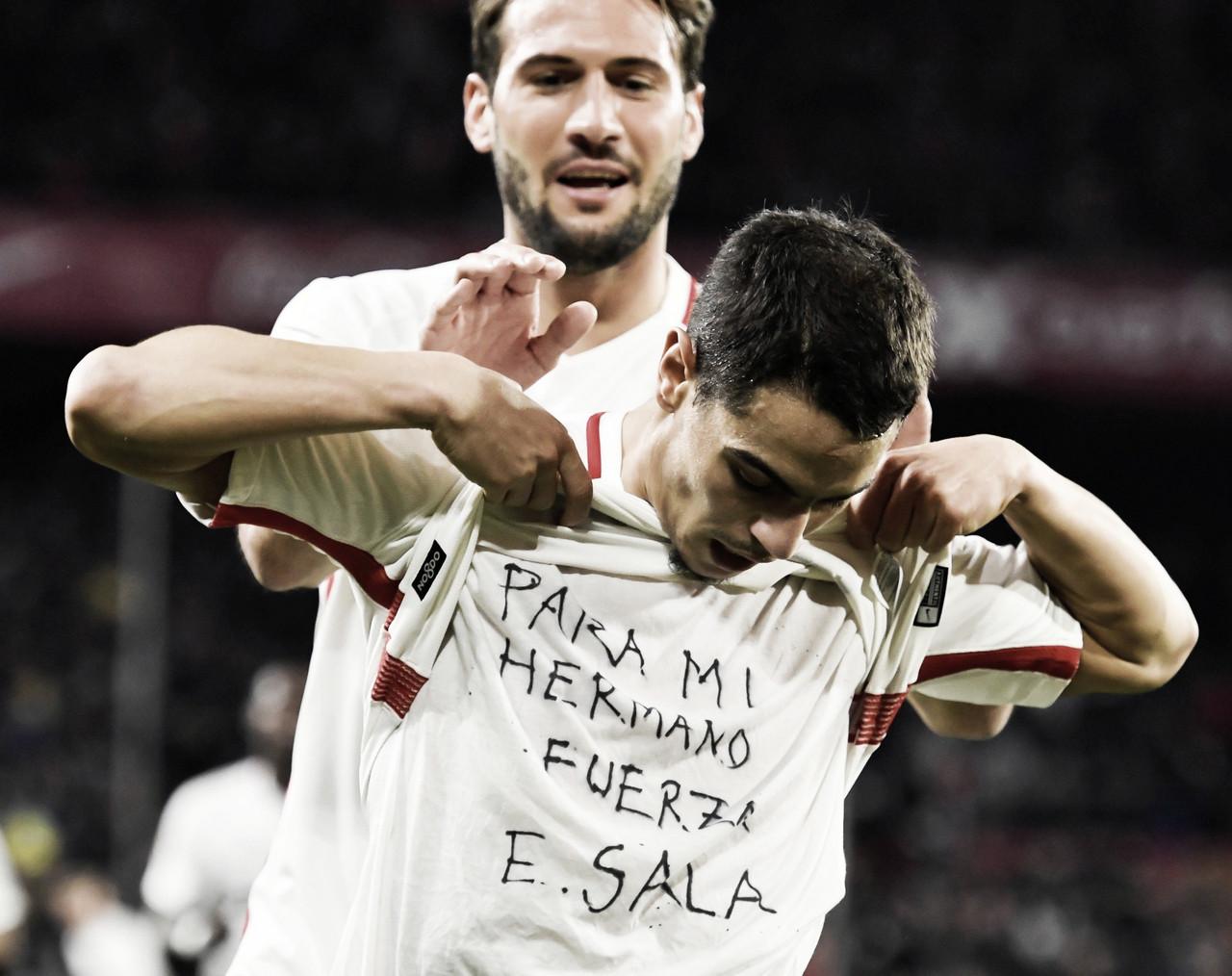 Sevilla FC vs FC Barcelona: Puntuaciones del Sevilla, ida de los cuartos de final de la copa del Rey