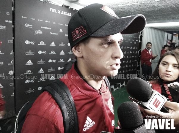"""Facundo Barceló: """"Me pude quitar rápido la presión del gol"""""""