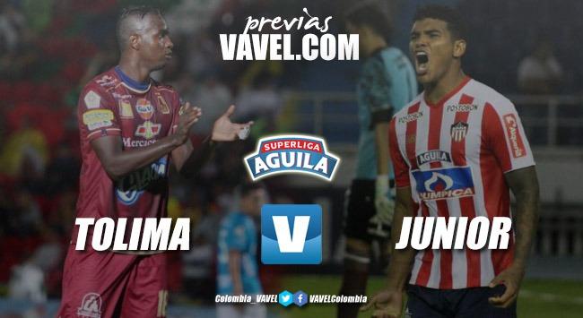 Previa Tolima vs Junior: ventaja del 'pijao' y el 'tiburón' quiere remontar