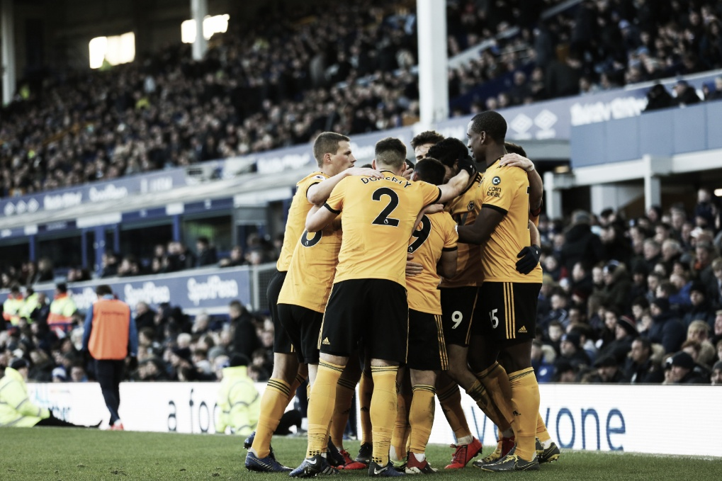 Wolves confirma boa fase, bate Everton fora de casa e conquista terceira vitória seguida
