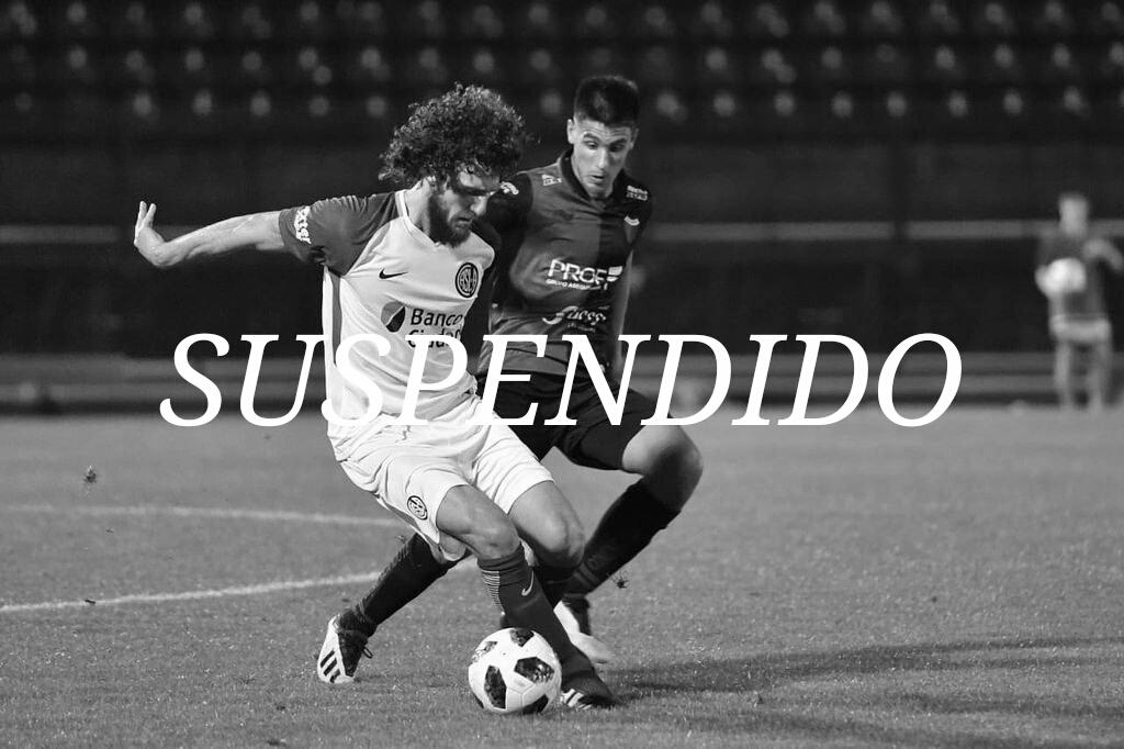 Colón - San Lorenzo: suspendido