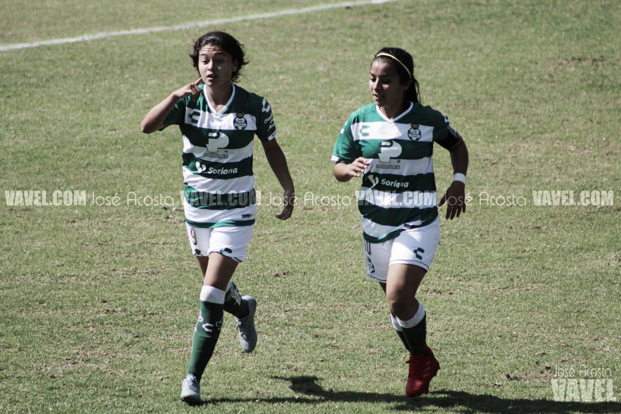 En feria de goles, Rojinegras caen ante Santos Femenil