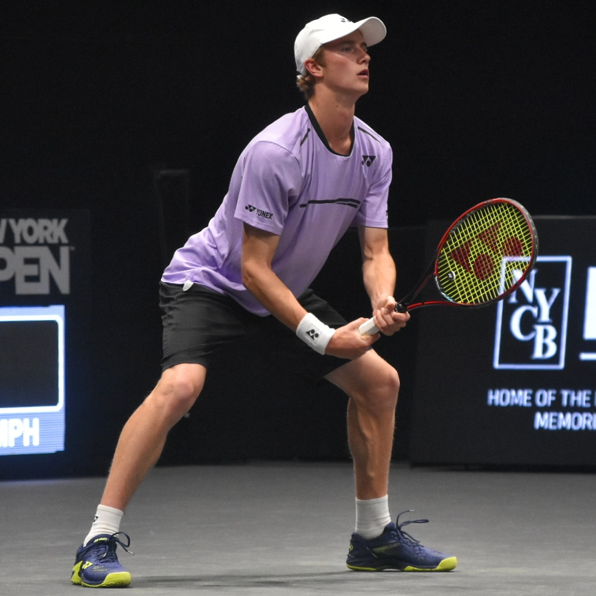 ATP New York Open: Cannon Kingsley takes positives despite defeat on tour-level debut