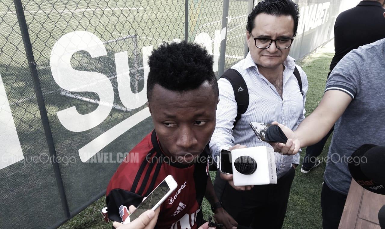 """Clifford Aboagye: """"Voy a trabajar más para seguir en el once inicial"""""""