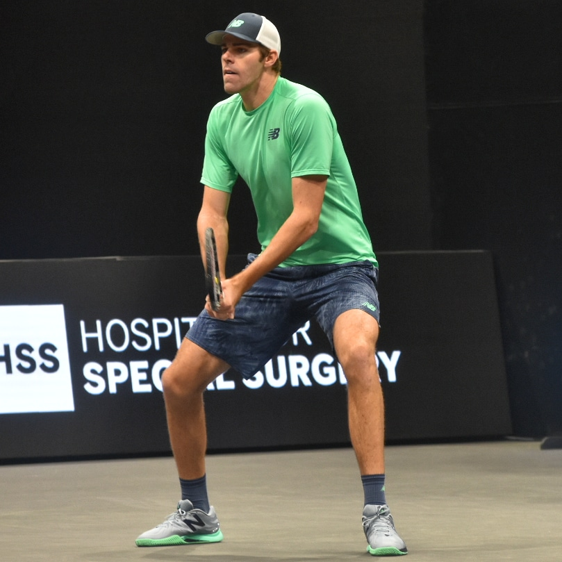 ATP New York Open: Reilly Opelka comes from behind to defeat Adrian Mannarino
