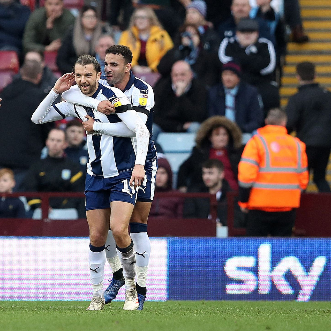Aston Villa 0-2 West Brom: Baggies prevail in the Midlands Derby