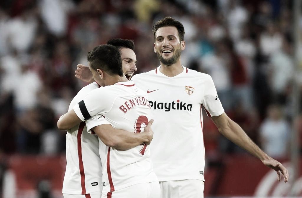 Sem problemas! Sevilla bate Lazio dentro de casa e avança às quartas da Europa League