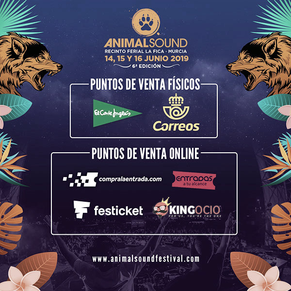 GUÍA VAVEL FESTIVALES 2019: Animal Sound