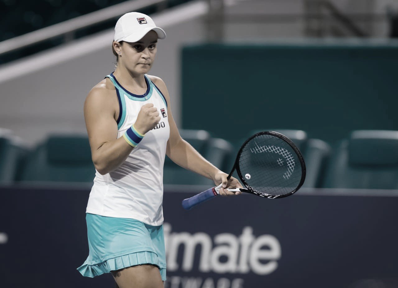 Barty supera Kontaveit no Miami Open e alcança maior final da carreira
