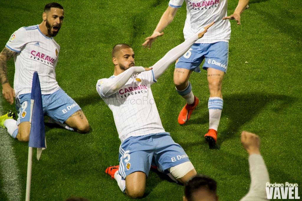 Goleada del Real Zaragoza ante un inocente Nástic