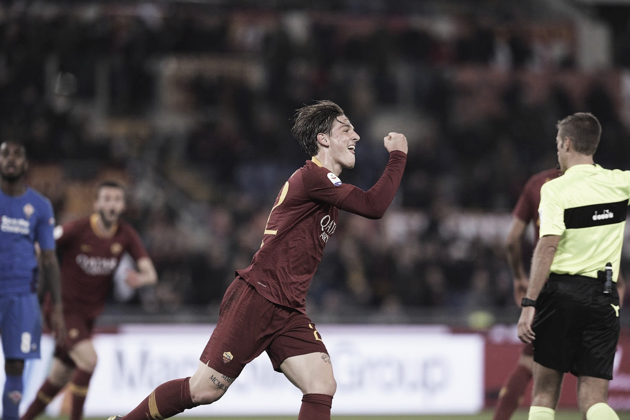 Roma y Fiorentina dividen puntos en vibrante partido