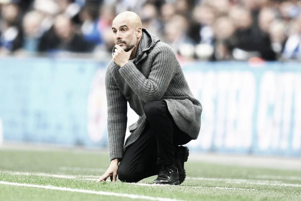Guardiola destaca merecimento após classificação do City na final da Copa da Inglaterra